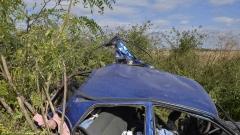 16-годишна без книжка заби колата си в ел. стълб в Бургас