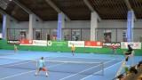 Резултати от осминафиналите на дамското държавно първенство по тенис в зала