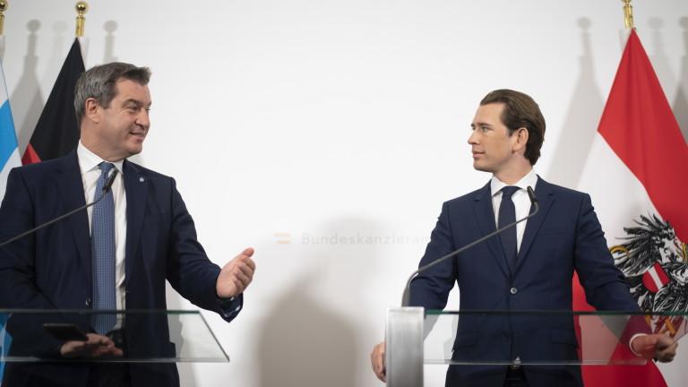 Консервативните лидери на Австрия и германската провинция Бавария отхвърлиха призива