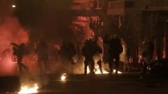Безредици в Атина, полицията употреби сълзотворен газ