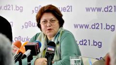 """Дончева видя манипулация в писането """"на коляно"""" на поправки в изборната система"""