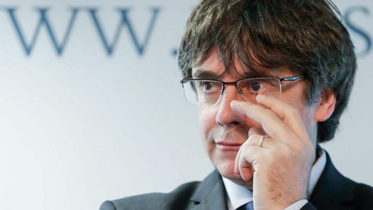 Съдът на ЕС отряза Пучдемон да стане евродепутат