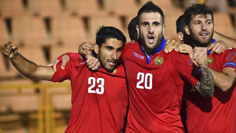 Страхотен Мхитарян накара Армения да мечтае за Евро 2020