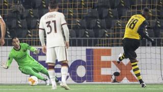 Йънг Бойс поведе срещу Рома
