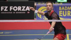 Димитър Янакиев бе спрян на 1/4 финалите в Швеция