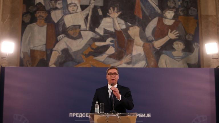 Сърбия подкрепя разделяне на Косово по етнически линии