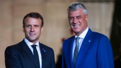 Тачи очаква споразумение със Сърбия до месеци, след разговора с Макрон и Вучич