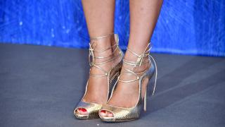 Обувки за червен килим (СНИМКИ)