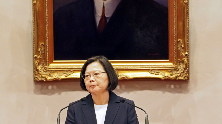 Президентът на Тайван Цай Ингвен осъди