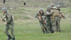 Военни от България, САЩ и Румъния се биха с бунтовници в Ново село