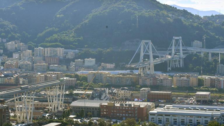 Операторът на рухналия в Италия мост заяви, че е провел