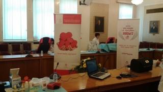 Депутатите се включиха в акция по кръводаряване