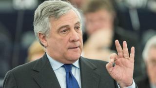 Антонио Таяни води на третото гласуване за шеф на ЕП