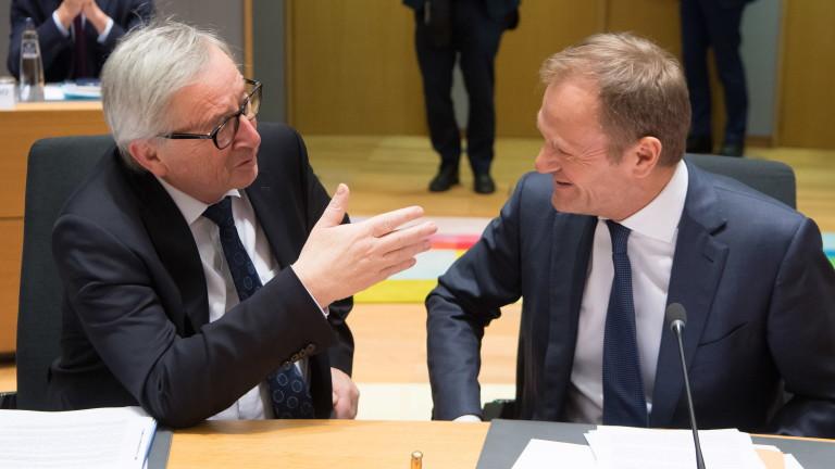 Председателят на Европейския съвет Доналд Туск съобщи, че ЕС ще