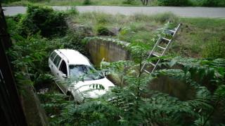 Пиян шофьор падна с колата си в река в Пловдивско