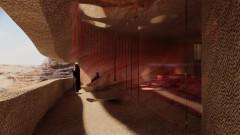 """Sharaan: """"пещерният"""" хотел в пустинята на Саудитска Арабия"""
