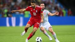 Иран - Испания, 0:1 (Развой на срещата по минути)