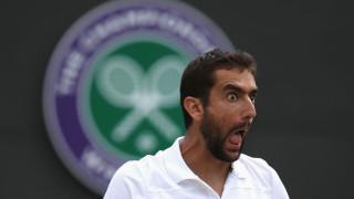 Марин Чилич изпревари треньора си, класирайки се за полуфинал на Уимбълдън