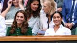 Защо Меган пристигна след Кейт на финала на Уимбълдън