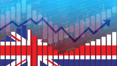 Икономиката на Великобритания се е свила с 8,5% спрямо нивата преди пандемията