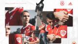 ЦСКА пусна в продажба новата фланелка, рекордните титли са на левия ръкав