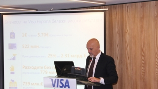 Visa отчита 18% ръст на изхарчените средства в България
