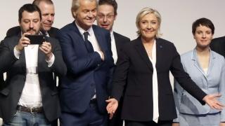 2017-а - годината на събуждането на хората в континентална Европа, сигурна Марин льо Пен