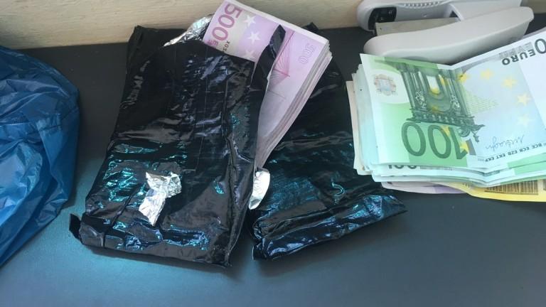 """Заловиха туркиня, опитала да пренесе над 100 000 евро през """"Калотина"""""""