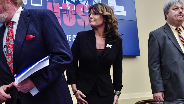 Сара Пейлин не e жертва на сексуален тормоз, защото е въоръжена