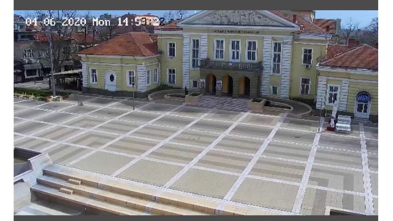 Община Ямбол монтира камера за онлайн видеонаблюдение на централната градска