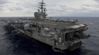 Самолет на ВМС на САЩ падна до Окинава