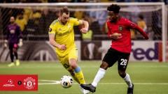 Астана стигна до обрат срещу Манчестър Юнайтед