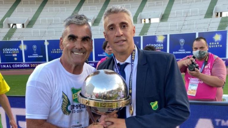 Ернан Креспо с първи голям трофей в треньорската си кариера
