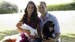 Избраха 7 кръстника на принц Джордж