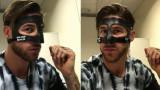 Серхио Рамос сложи маска, Гарет Бейл готов за игра
