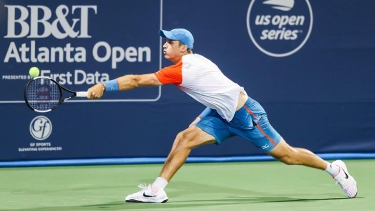 Американският тенисист Кевин Кинг, който е връстник на Григор Димитров