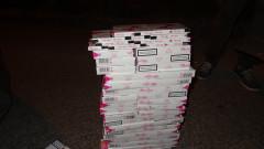 Задържаха видинчанин с близо 1800 кутии незаконни цигари