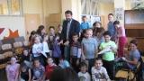 Ники Кънчев се върна в училище (СНИМКИ)