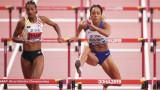 Катерина Джонсън-Томпсън и Нафисату Тиам водят страхотна битка за златото в седмобоя