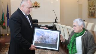 """Борисов благодари на арх. Фикрие Булунмаз за реставрацията на """"Св. Стефан"""""""