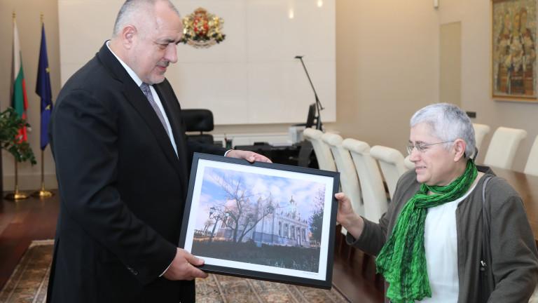 Премиерът благодари на архитекта Фикрие Булунмаз и на целия екипза