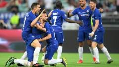 Челси - Арсенал 4:1, втори гол на Азар в мача!