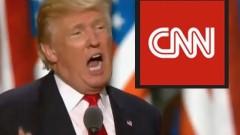 CNN бойкотира коледното парти на Тръмп в Белия дом
