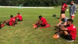 ЦСКА тренира за последно в Австрия, прибира се в София късно тази вечер