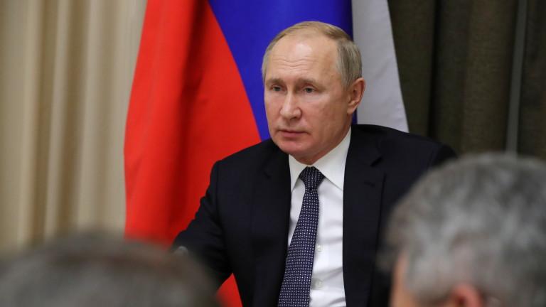 """Путин увери, че """"Северен поток 2"""" не означава спиране на транзита през Украйна"""