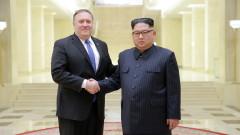 Майк Помпео пристигна в Пхенян