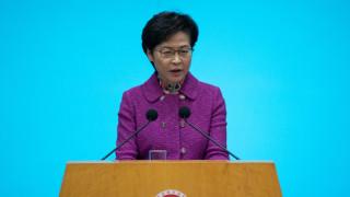 """Кари Лам похвали """"забележително ефективния"""" закон за националната сигурност в Хонконг"""
