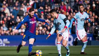 Барса срещу Селта е дербито от 1/8-финалите за Купата на Краля