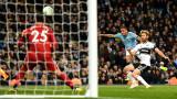 Манчестър Сити победи Фулъм с 2:0 за Купата на Лигата