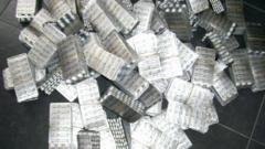 28 700 таблетки с псевдоефедрин спипаха на Капитан Андреево